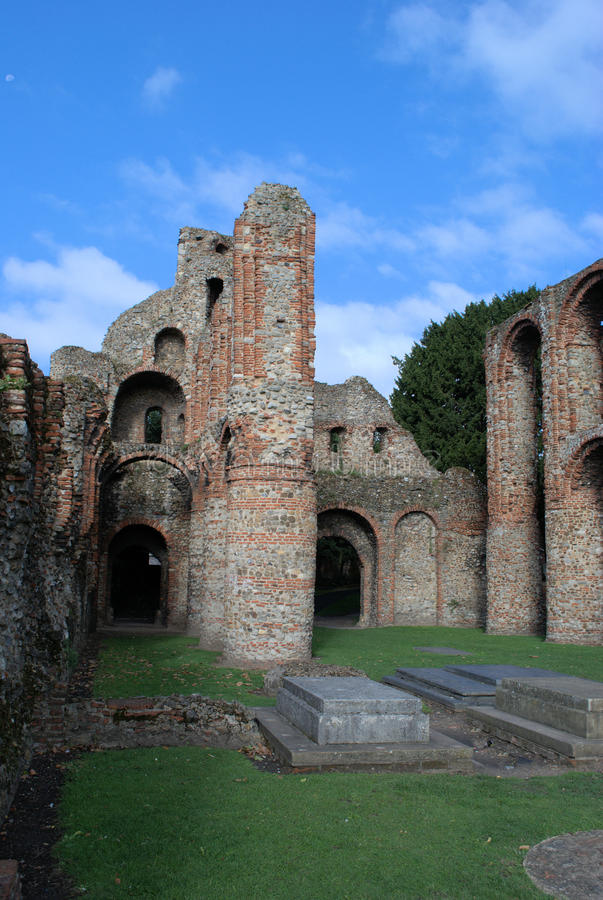 Download Colchester Priory stock image. Image of town, front, recorded - 15848217
