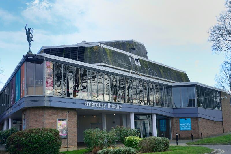Colchester-Quecksilbertheater stockfotos