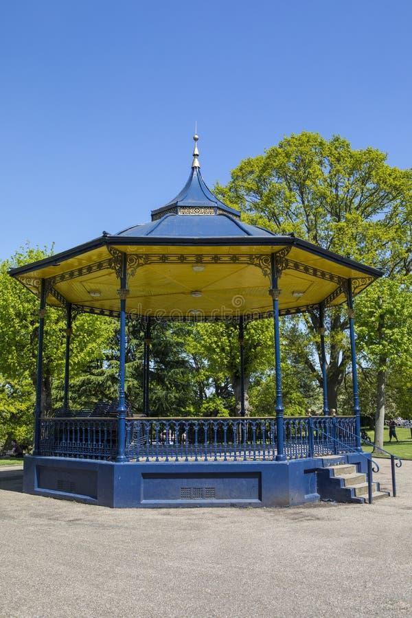 Colchester-Schloss-Park in Essex lizenzfreie stockfotos