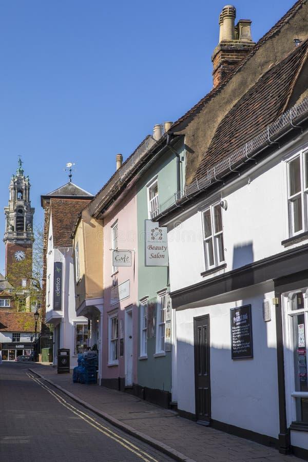 Colchester w Essex fotografia stock