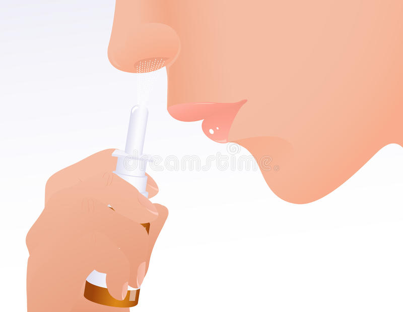 Download Cold stock vector. Image of dose, hospital, nasal, care - 15116179
