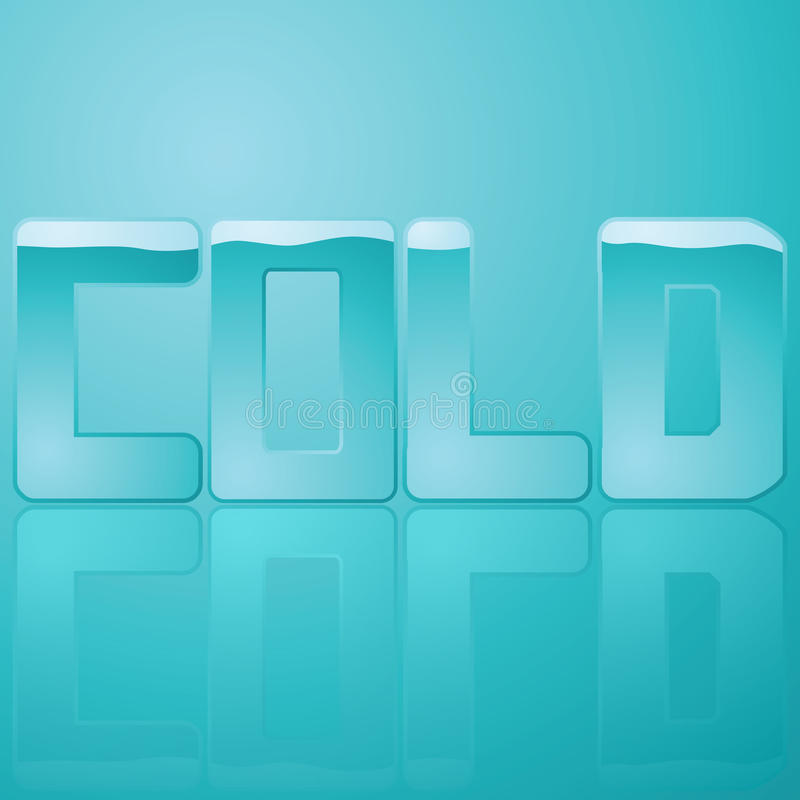Download Cold stock vector. Image of cold, glass, water, shiny - 15164899