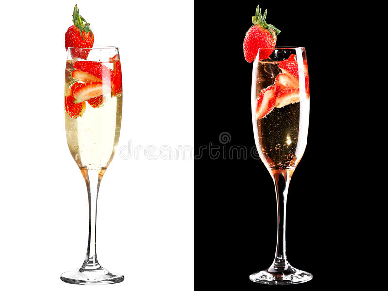 Cold Alcoholic Cocktail Royalty Free Stock Image