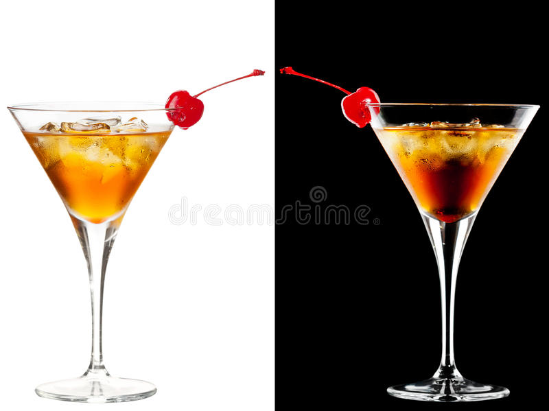 Download Cold alcoholic cocktail stock image. Image of cocktail - 30336315