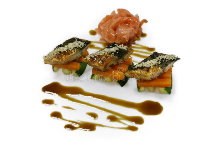 Download Cold Appetizer Of Fish With Vegetables Stock Photo - Image: 17586176