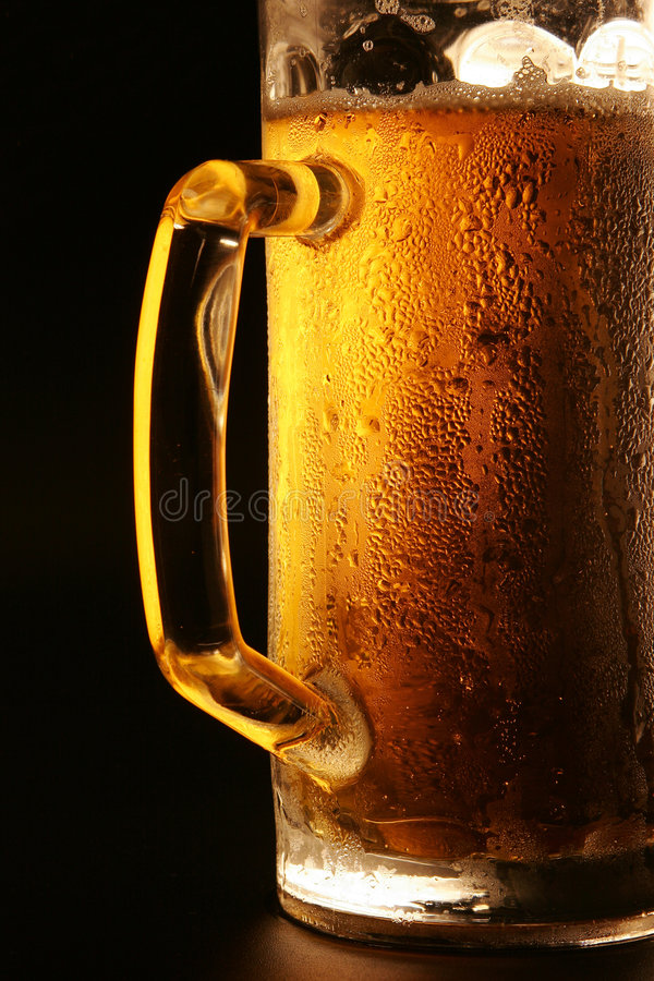 The cold beer royalty free stock photo