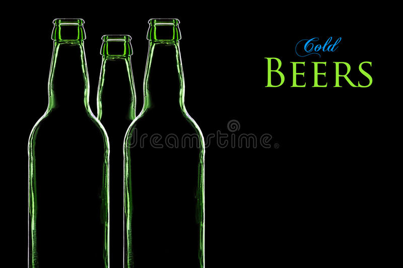 Cold Beers royalty free stock photography