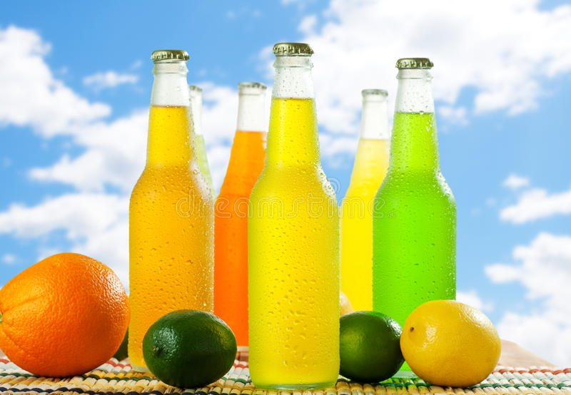 Cold Beverages stock images