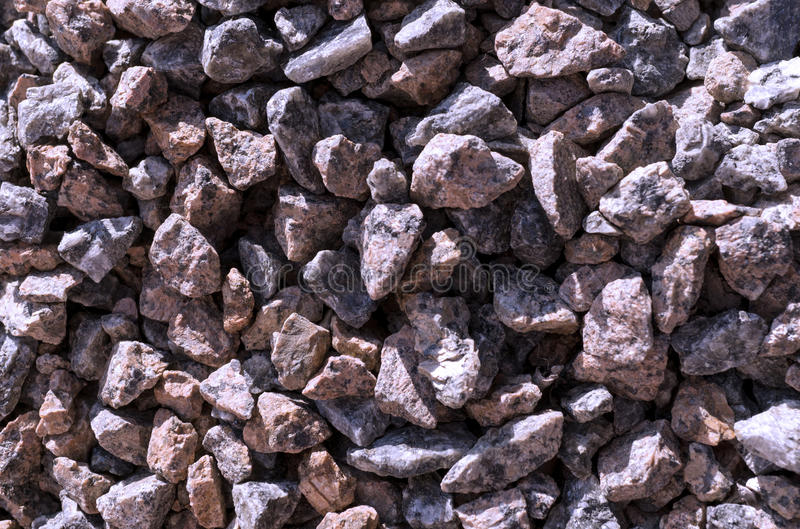 Cold blue stones gravel texture macro stock images