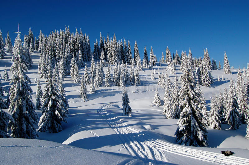 Download Cold brightness stock photo. Image of shadow, sunny, mountain - 12587784