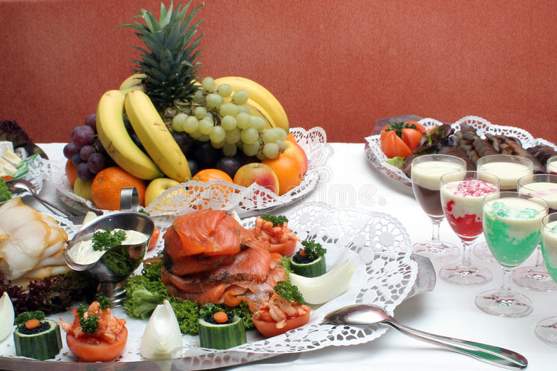 Download Cold buffet stock photo. Image of buffet, platters, refreshment - 11365334