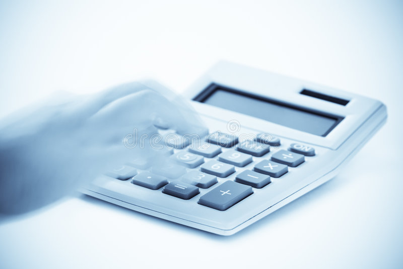 Download Cold Calculations stock photo. Image of hand, doing, numbers - 8286898