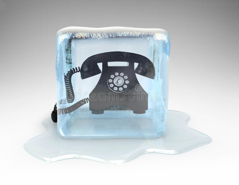 Cold Call vector illustration