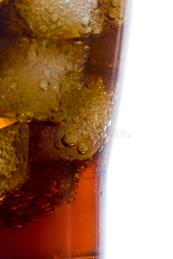 Cold coke drink royalty free stock photography