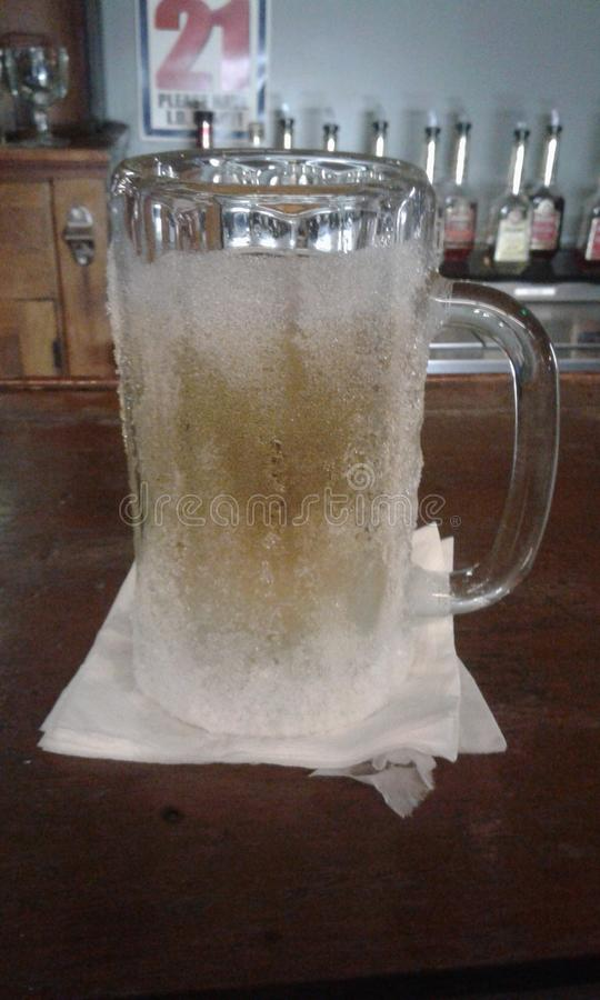 Cold Draft Beer royalty free stock images