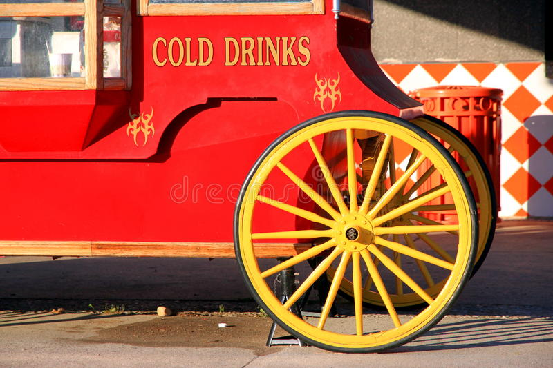 Download Cold Drinks Stand stock photo. Image of wheels, soda - 20847254