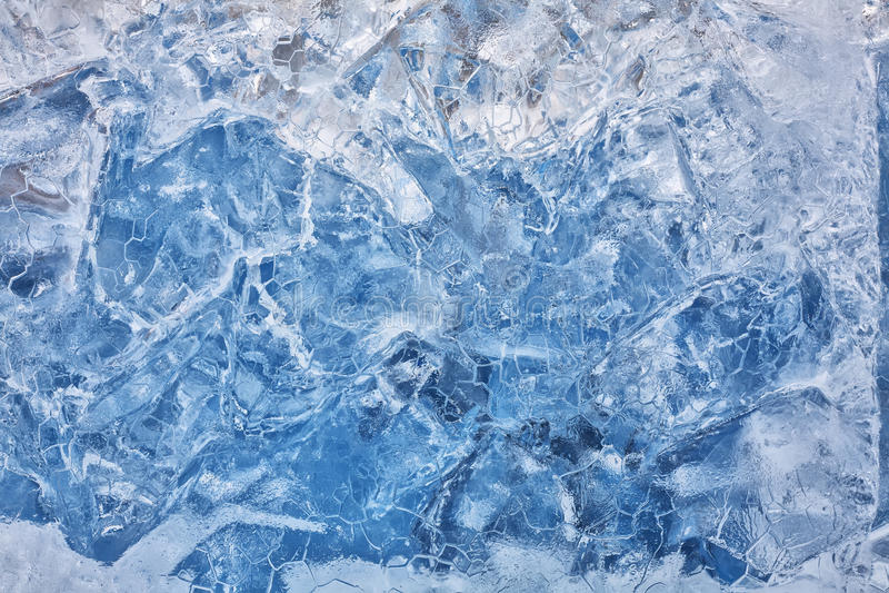 Cold Ice stock photo