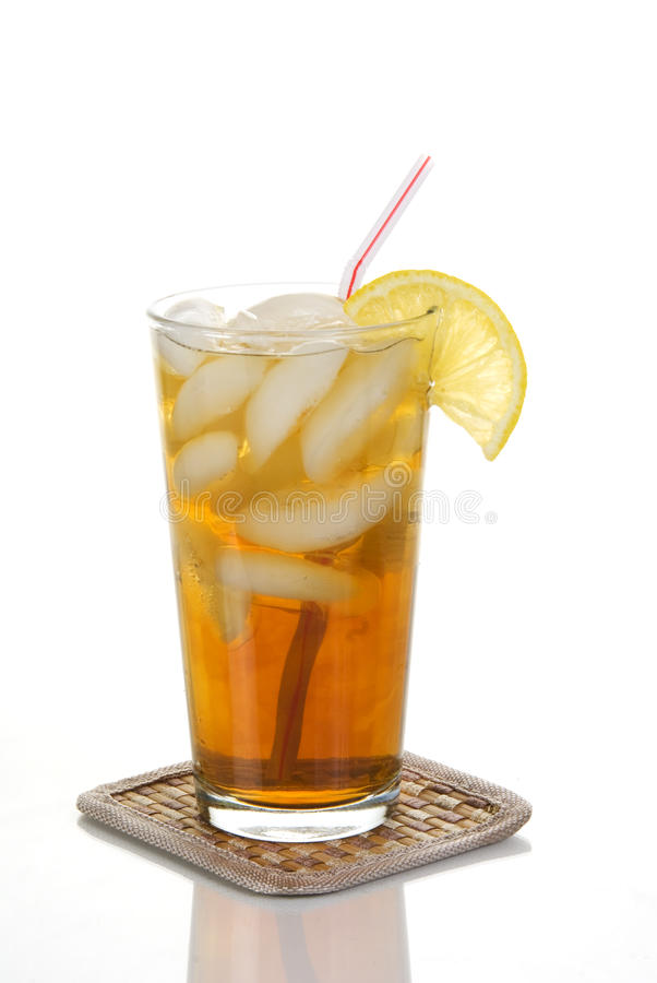 Download Cold Iced Tea stock image. Image of beverage, amber, iced - 12651183