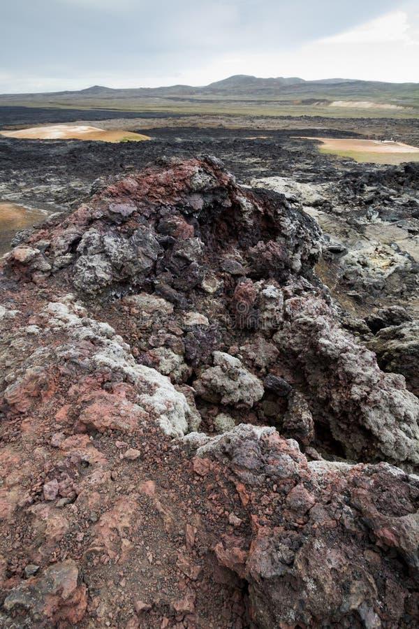 Download Cold lava stock image. Image of landscape, danger, rock - 28206891