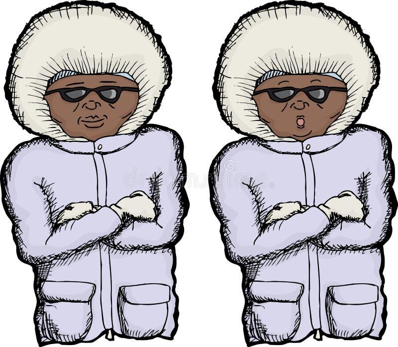 Cold Person Stock Image