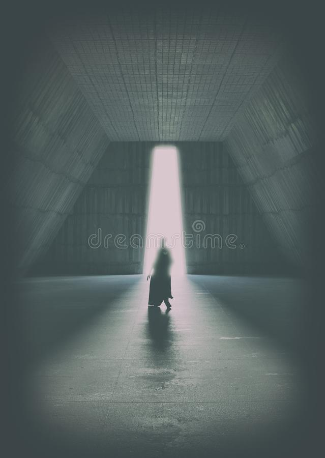 Cold place portal royalty free stock photography