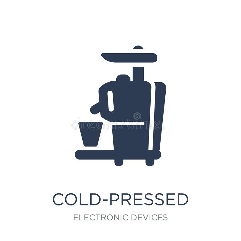 Cold-pressed juicer icon. Trendy flat vector Cold-pressed juicer vector illustration