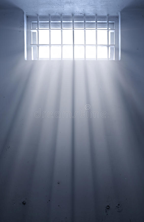 Download Cold Prison Cell With Sunshine Through Window Stock Photo - Image: 12798182