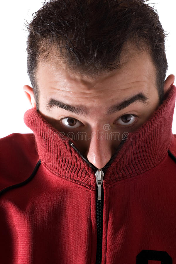 Download Cold Shivering Man stock image. Image of cold, freezing - 12646509