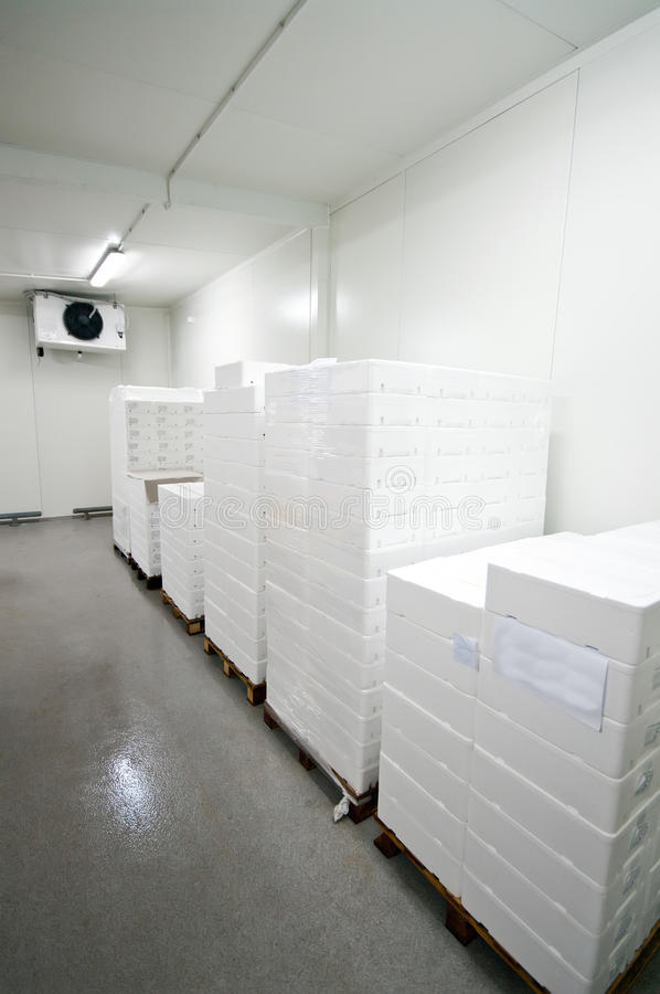 Cold storage stock images