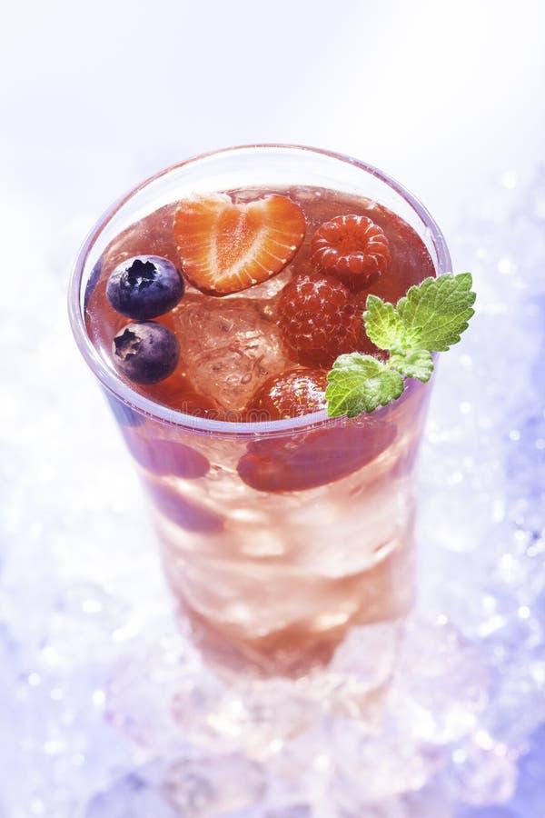 Download Cold summer drink stock image. Image of juice, huckleberry - 32799157