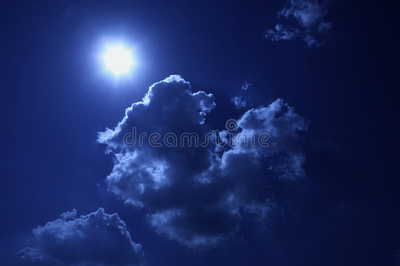 Download Cold sun stock photo. Image of background, bright, cloud - 30517202