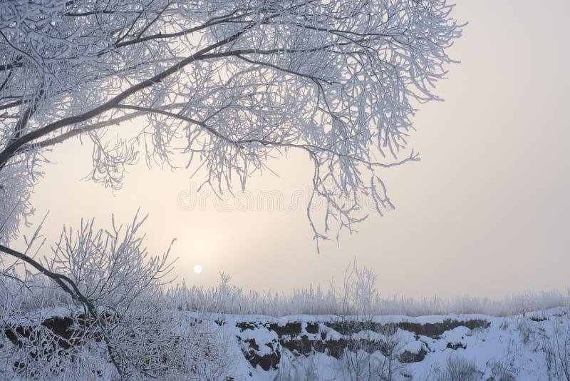 Download Cold sunrise stock image. Image of morning, landscape - 12907503