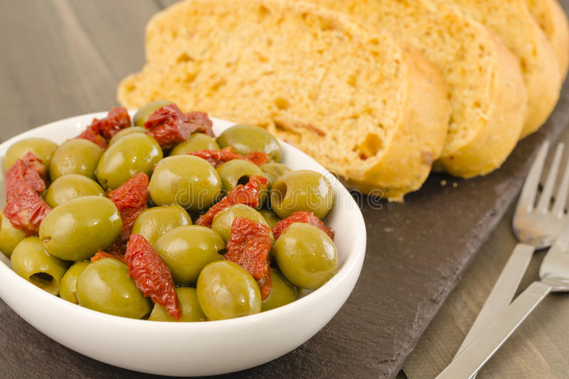 Download Cold Tapas stock photo. Image of lunch, bowls, close - 27693410