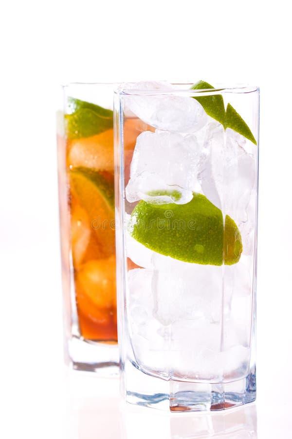 Download Cold tea stock image. Image of citrus, beverage, color - 14501579