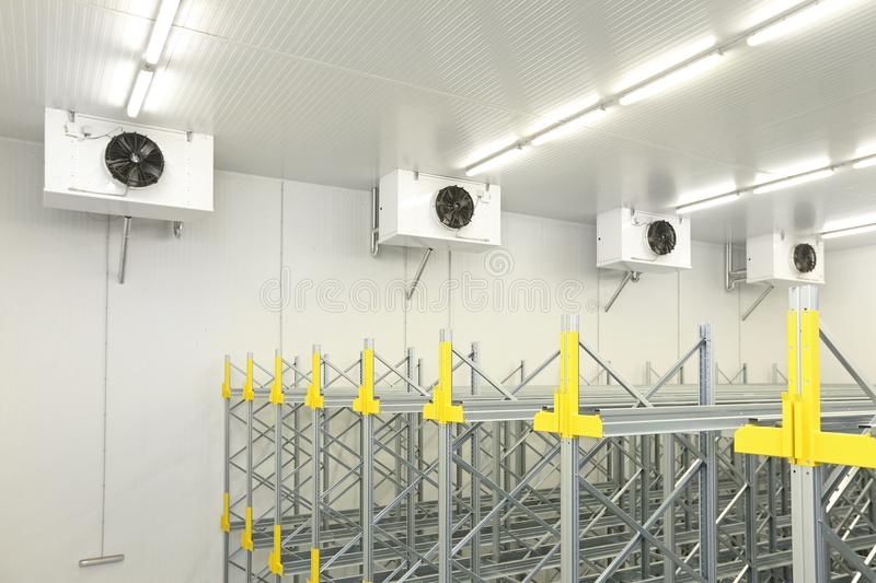 Cold Warehouse Cooling stock image