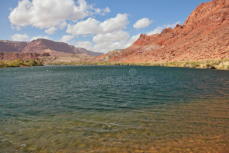 Cold  Water Of The Colorado River Royalty Free Stock Photos