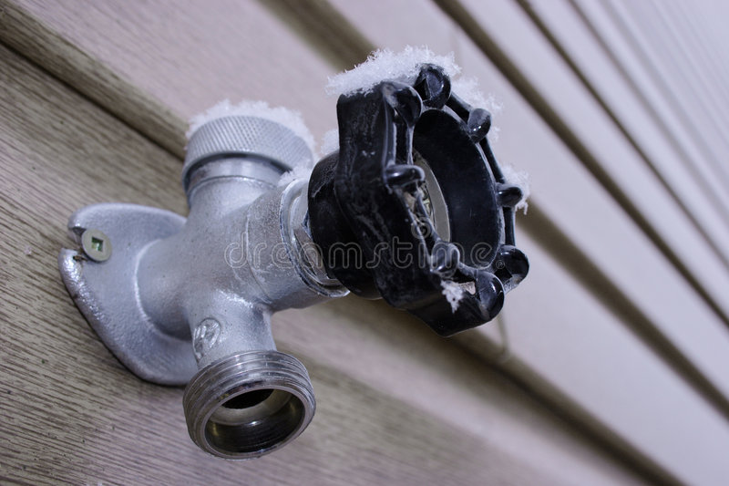 COLD WATER TAP stock images