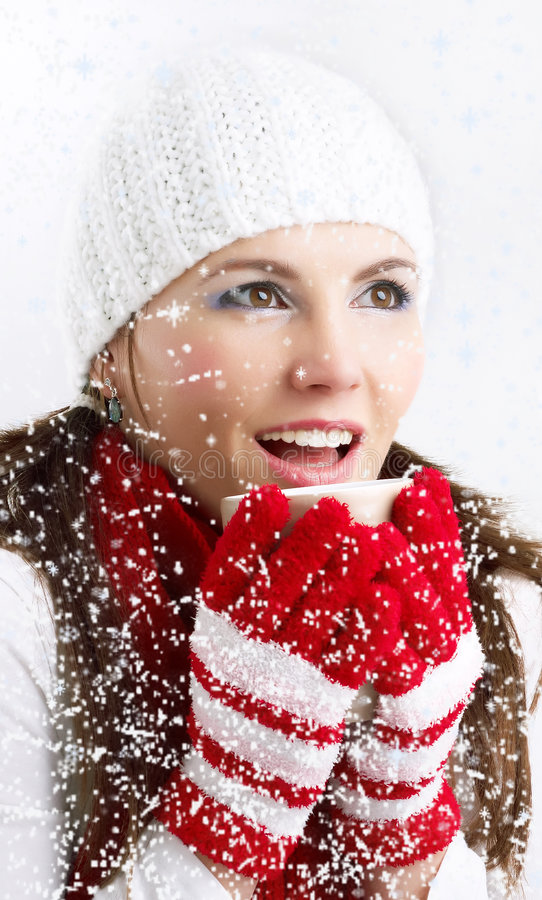 Download Cold winter days stock photo. Image of background, makeup - 7467336