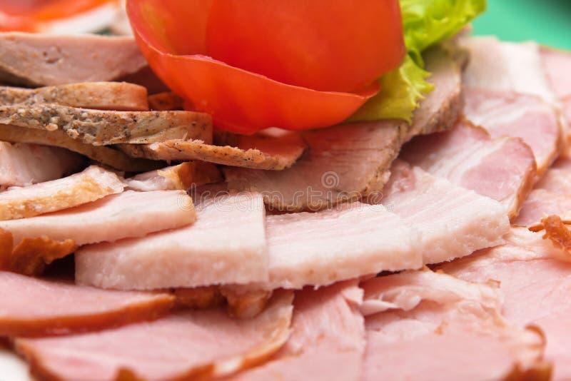 Coldcut della carne fotografia stock libera da diritti
