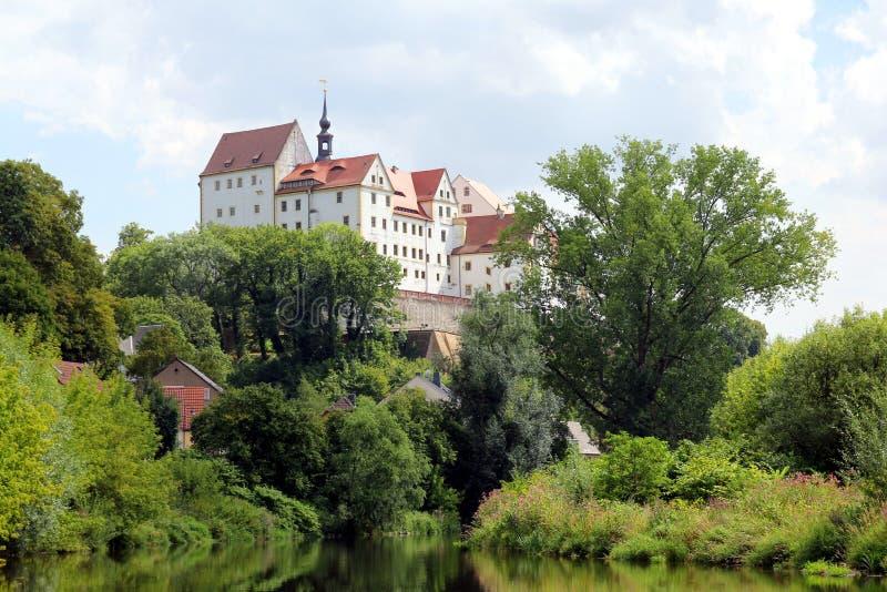 Colditz Castle στην κατάσταση της Σαξωνίας στοκ εικόνες με δικαίωμα ελεύθερης χρήσης