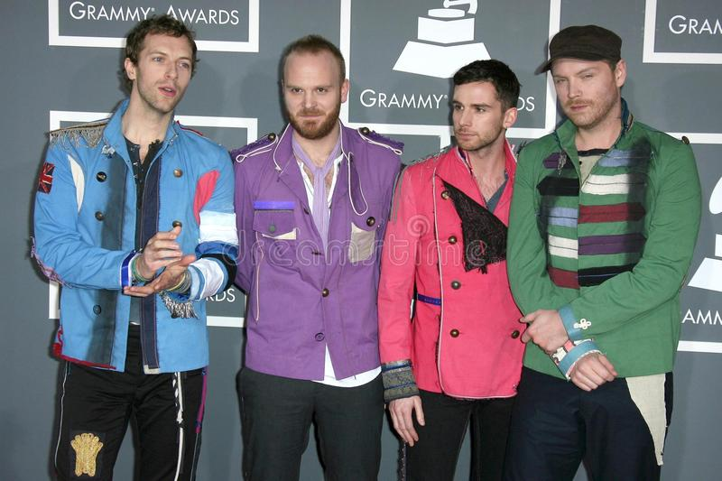 Download Coldplay editorial stock image. Image of awards, grammy - 22228159