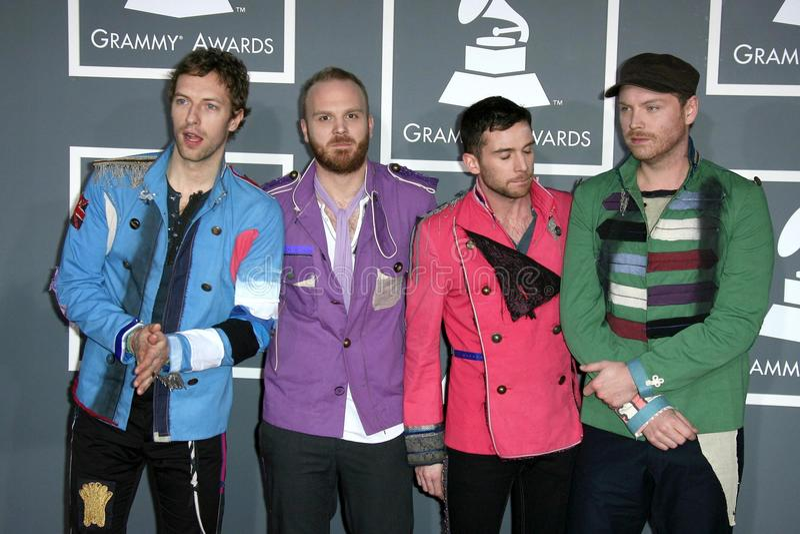 Coldplay imagem de stock