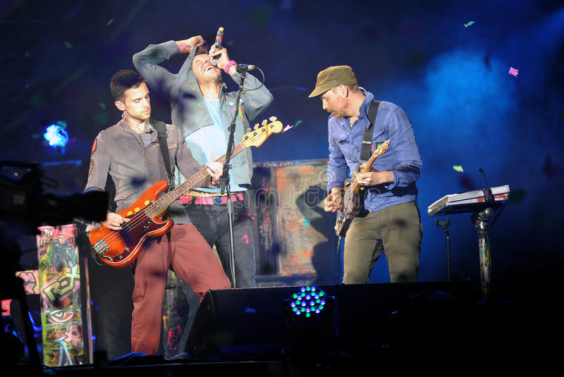 Download Coldplay Editorial Stock Image - Image: 26656674