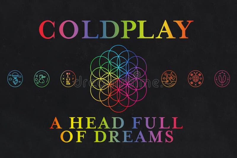 Coldplay albumy sen ilustracji