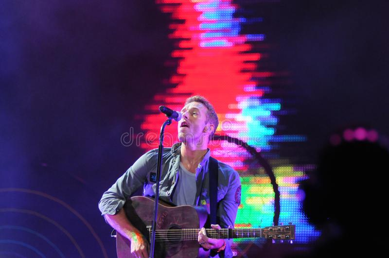COLDPLAY stock photo