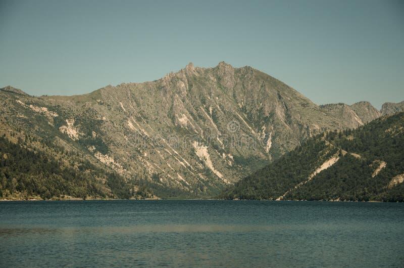 Coldwater Lake royaltyfria bilder