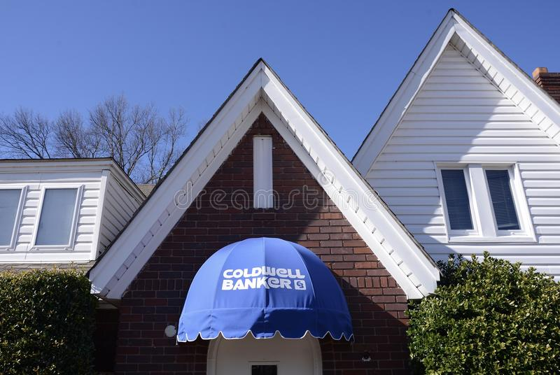 Coldwell Bank Real Estate Firma zdjęcie royalty free