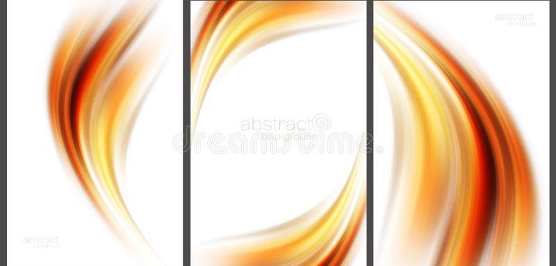 Coleção abstrata do de alta tecnologia do fundo ilustração do vetor