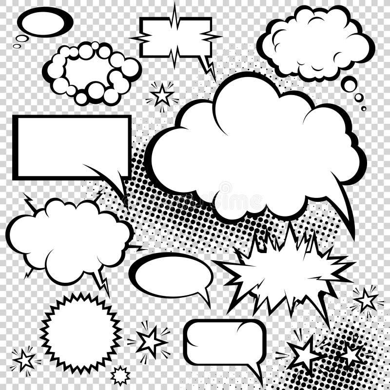 Coleção cómica das bolhas