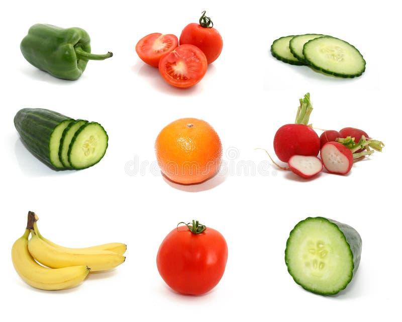 Coleção da fruta fotos de stock royalty free